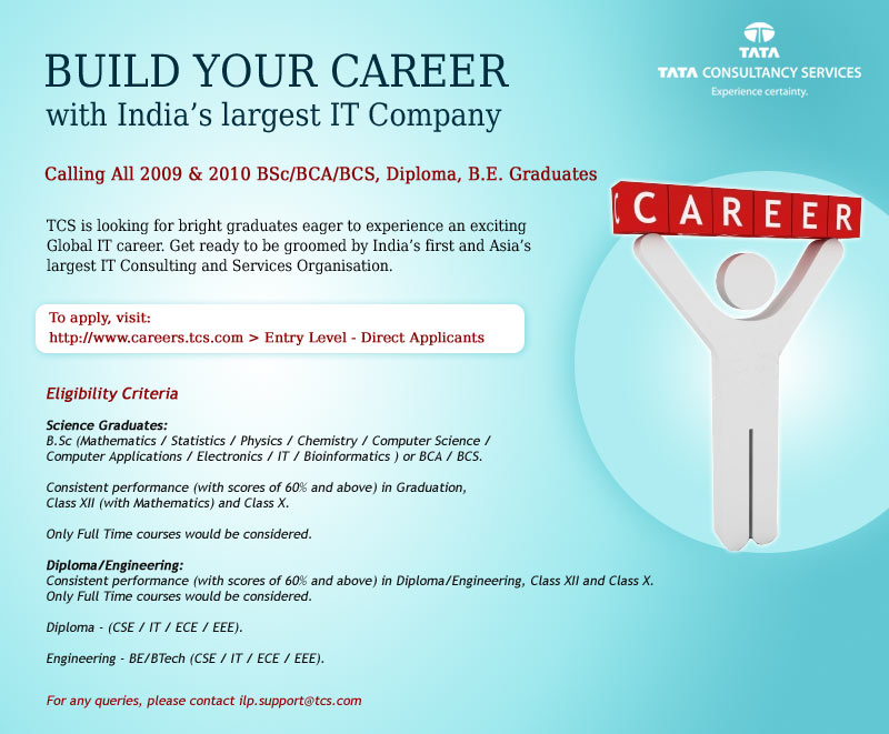 TCS hiring freshers Pavan DBAs Blog
