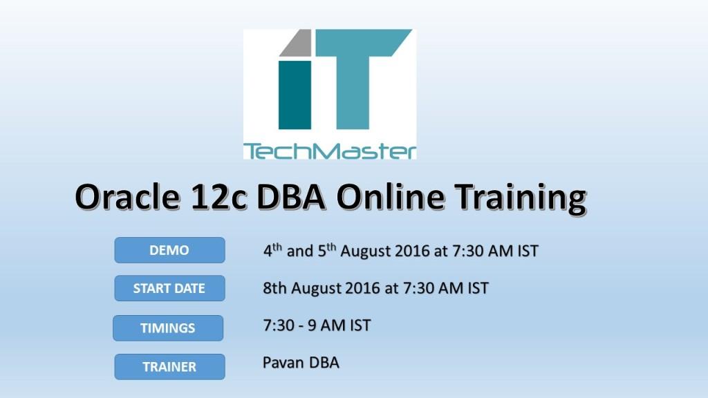 Oracle DBA advt-August2016