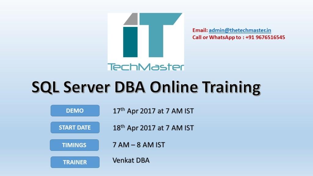 sql online training Sql server t-sql training, sql server training provided by sql school realtime online training institute in hyderabad.